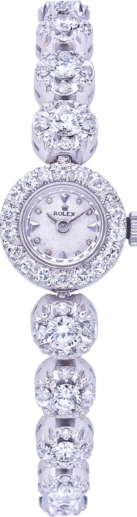 Another Favorite! Woman's Diamond Rolex watch dream. See more from Rolex at Maxon's Diamond Merchants! http://www.rockinghamdisplayshop.co.uk/