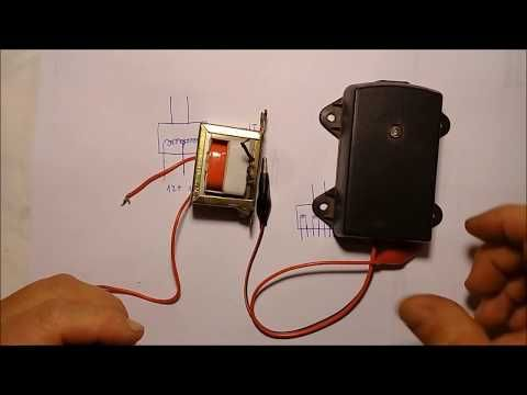 Como Reconocer Las Entradas Y Salidas De Transformadores Youtube Circuitos Electricos Basicos Transformadores Proyectos Electronicos