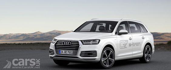 Audi Q7 E Tron Plug In Hybrid Revealed Geneva 2015 Audi Q7 Audi New Audi Q7