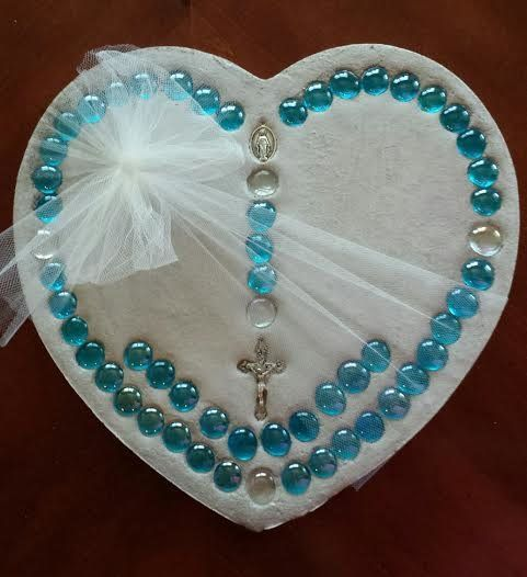 Gifts Made Of Stone : Rosary prayer rosaries and stepping stones on pinterest