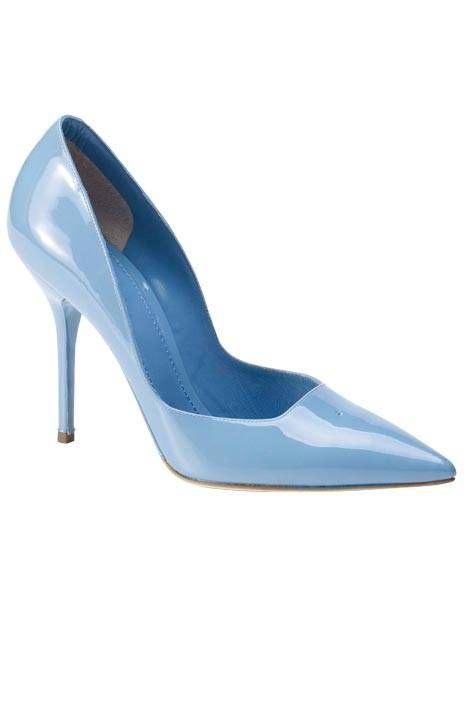 Dolce & Gabbana Patent Leather Pumps $595 Spring 2012 D&G #Shoes #Heels
