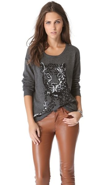 Fall Essentials: Graphic Sweaters // More at www.lakeshorelady.com