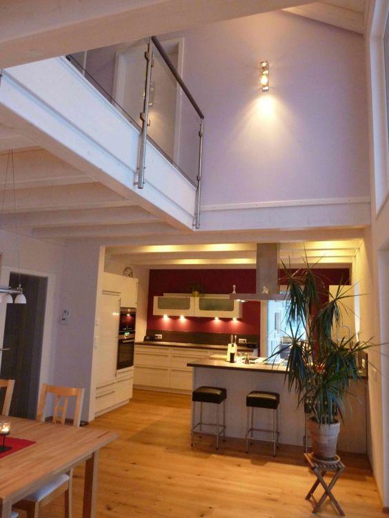 Innenausbau Wohnzimmer, Innenausbau Esszimmer, Innenausbau Haus - wohnzimmer gemutlich kamin