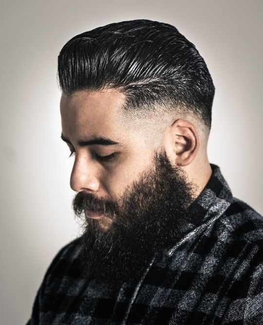 The Suavecito Oil Based Pomade Works For Thick Hair Types With Volume As Shown On Felix Suavecitopomade Suavec Thick Hair Styles Thick Hair Type Hair Pomade