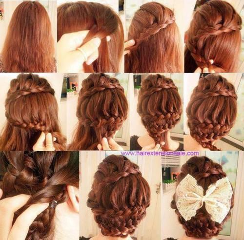 hair, hairstyle, and braid imageの画像
