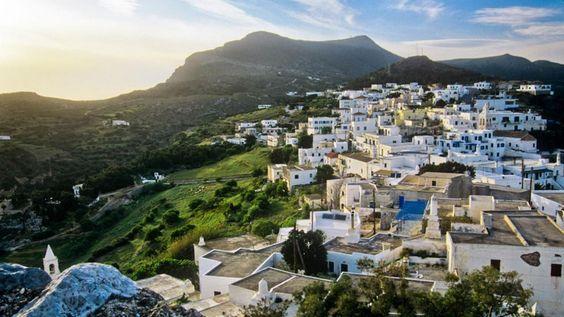 Chora, the island's capital (Credit: George Messaritakis)