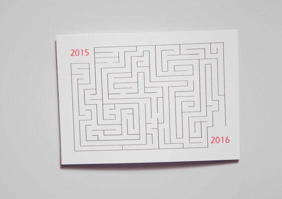 Carte de voeux nouvel an 2016 : Cartes par miska-creations: