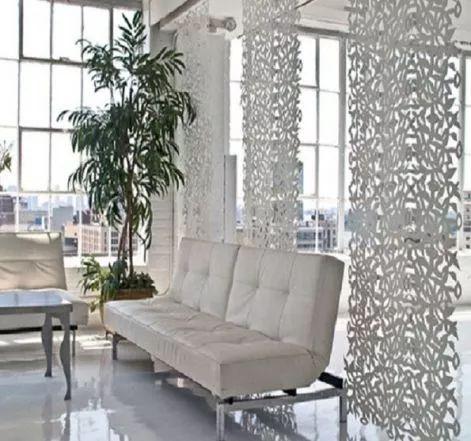 C mo separar ambientescosas de decoraci n for Cortinas para separar ambientes