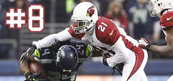 """. Patrick Peterson, CB, Arizona Cardinals: He is a physical corner who plays a lot of man coverage. And he does it well.  Offensive coordinator on Peterson: """"Peterson lines up on the top receiver all over the place. That gives him an edge over (Richard) Sherman. They're both really good."""""""