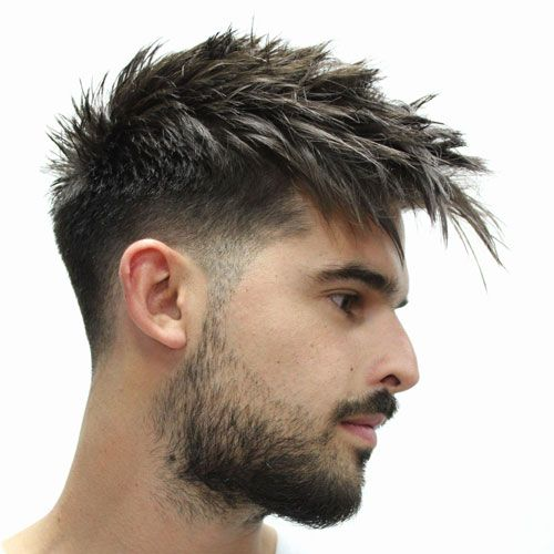 45 Best Spiky Hairstyles For Men 2020 Guide Mens Hairstyles Fade Short Hair Styles Faded Hair