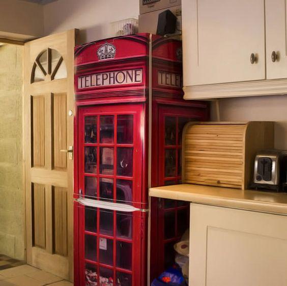 blog de decoração - Arquitrecos: Geladeiras adesivadas. Vida nova ao velho eletrodoméstico!: