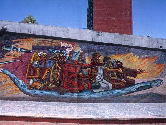 Pinterest the world s catalog of ideas for Mural quetzalcoatl