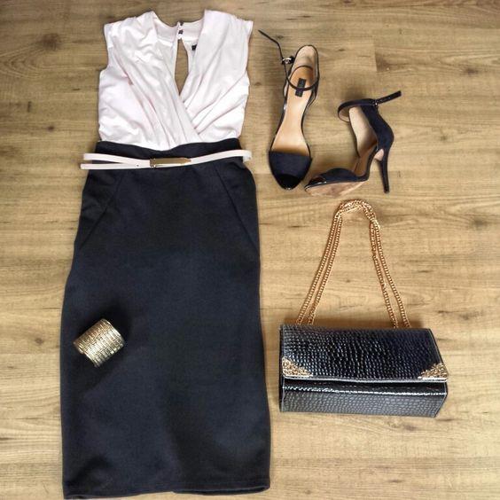 Jane Norman pencil skirt dress zara heels sammydress bag