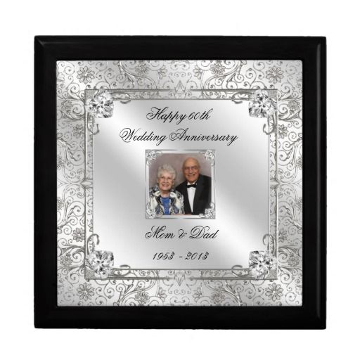 60th Wedding Anniversary Ideas: 60th Wedding Anniversary Photo Gift Box