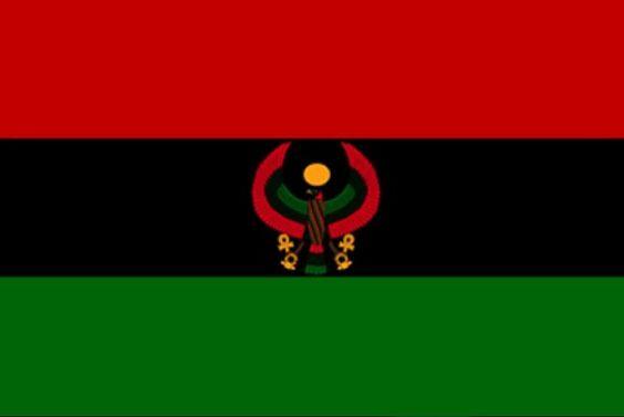 New U.N.I.A. Heru Pan African Flag...