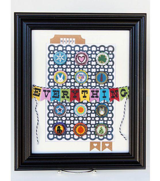 David Tutera Celebrate Card:  Happy Everything Wall Hanger