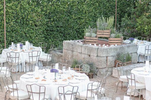 la boda de tamara y borja en el palacio de montarco telva