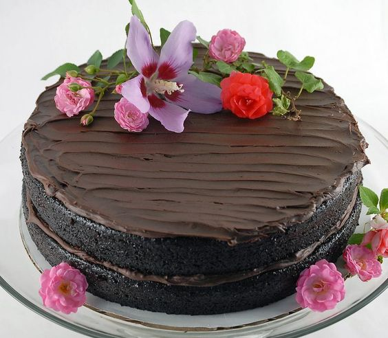 Gourmet's Double Chocolate Layer Cake