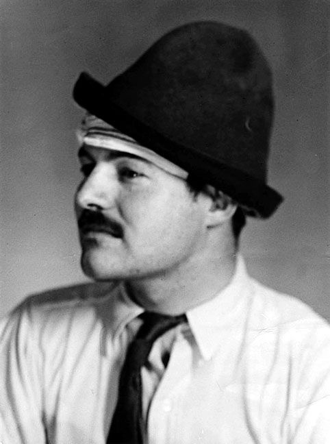 What is your opinion of Hemingway's fascination with specific themes, which are most commonly used by him?