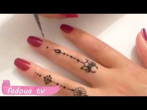 نقش الحناء خفيف و عصري على الاصابع Simple Henna Des Des Henna Simple الاصابع الحناء خفيف عصري ع Simple Mehndi Designs Mehndi Designs Simple Henna