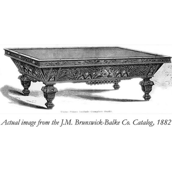 Image From The J M Brunswick Balke Co Catalog 1882