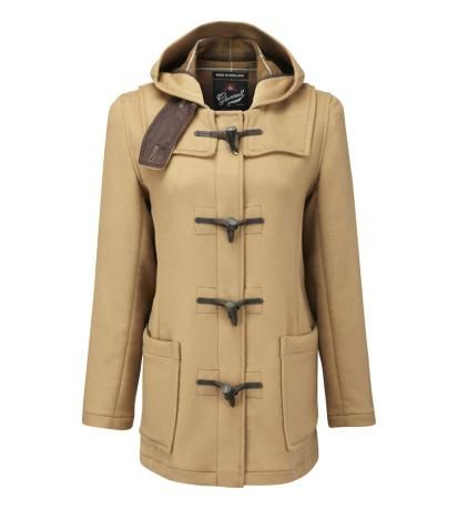 SHORT SLIM FIT DUFFLE COAT FC