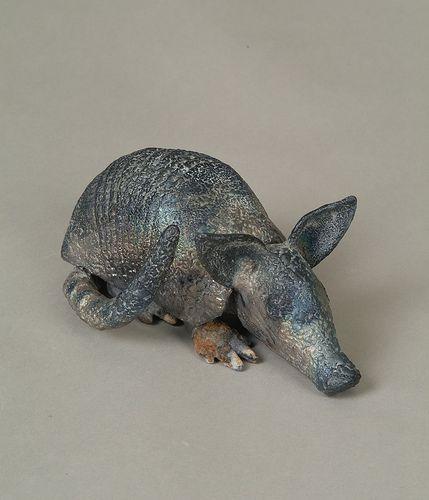 Baby armadillo via flickr pottery ceramics pinterest