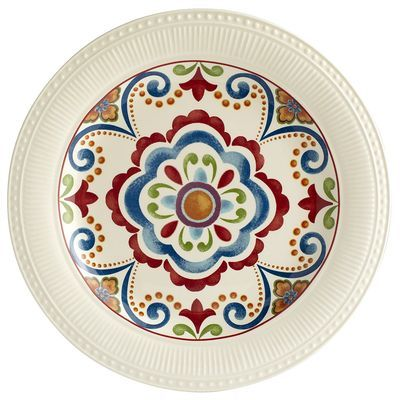 Pier 1 imports Global Medallion Dinner Plate