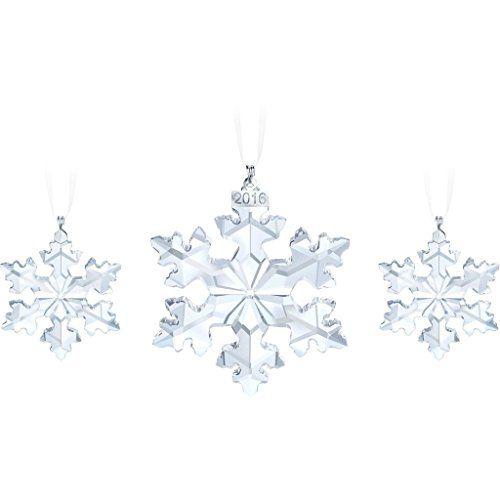 SWAROVSKI Swarovski Christmas Trio Set  Christmas Ornaments