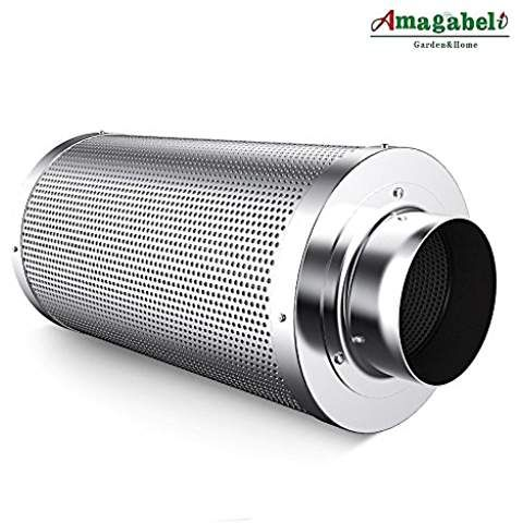 Amagabeli 4 Inch Carbon Filter Odor Control For Hydroponics Indoor Plants Grow Tent 4 In Air Filters With Australia Growing Plants Indoors Grow Tent Inline Fan