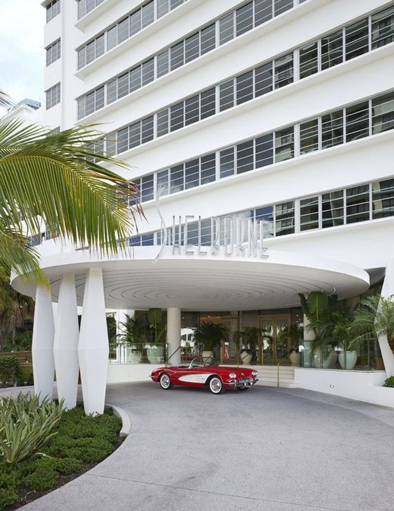 ART DECO glamour at the Shelborne Wyndham Grand South Beach Miami