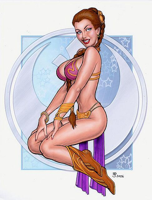Leia by Paul Jaworski