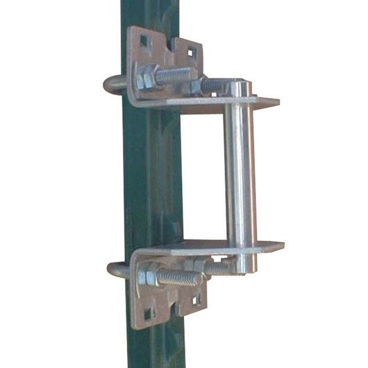 Wedge Loc Gate Hinge With Pin For T Post Corners C14349 Welded Wire Fence Gate Hinges Chicken Wire Fence