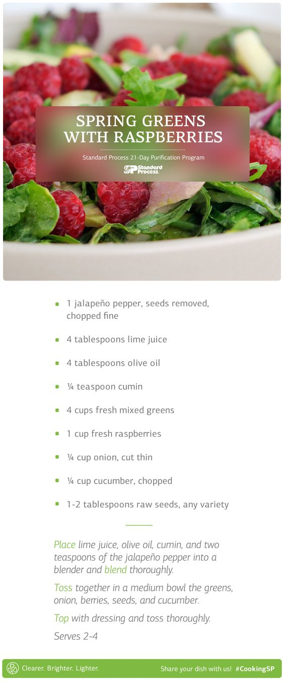 Put some zing into your spring with this flavor filled salad.: