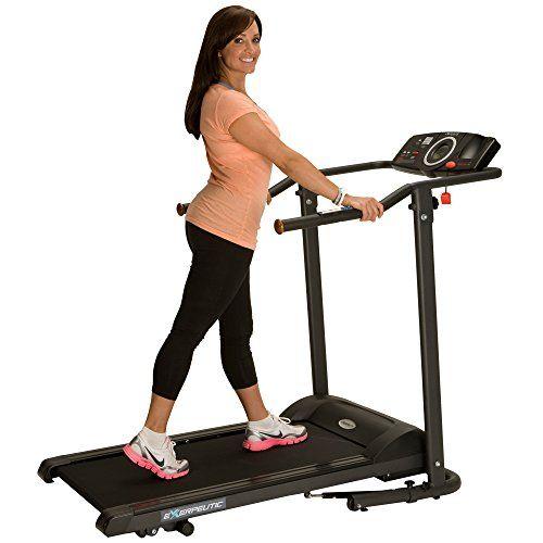 Exerpeutic TF1000 Walk to Fitness Electric Treadmill Exer... http://www.amazon.com/dp/B003X5J1S6/ref=cm_sw_r_pi_dp_kaPjxb1B0S31G
