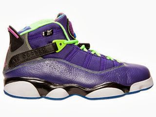 THE SNEAKER ADDICT: Air Jordan 6 Rings Bel-Air Sneaker Available Now (Detailed Images)