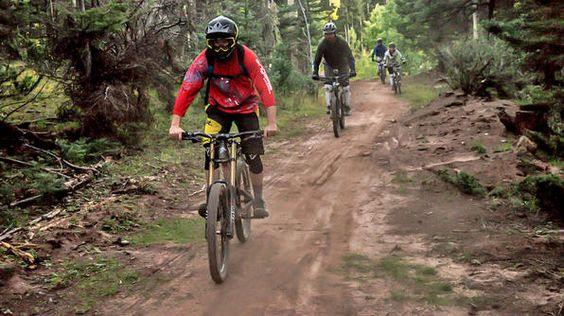 Our adventurers go biking in the epic Angel Fire Bike Park in New Mexico!