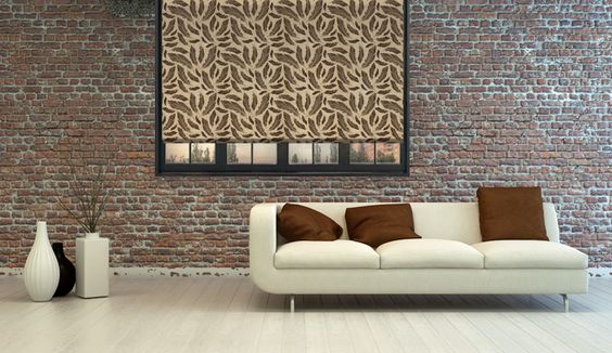 #Brown #feathers #rollerblind #interior #design #home #decor #style #ideas #DIY #livingroom #windowdecor #windowtreatments #ideas #cool #pattern #design @decoshaker.com