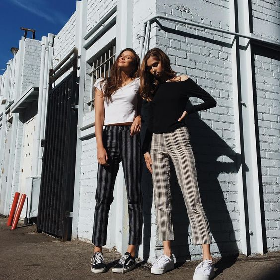 "91.4k Likes, 221 Comments - Brandy Melville (@brandymelvilleusa) on Instagram: ""#brandyusa Tilden Pants | Rin Top | Alyssa Top coming soon!"""
