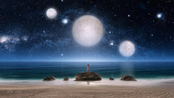 mar de noche - Buscar con Google