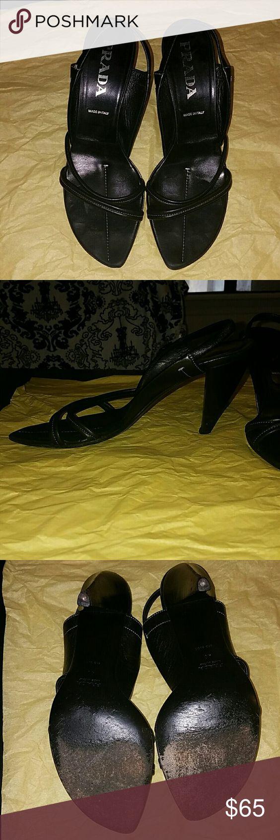 Prada heels | Prada shoes, Shoes heels and Cobbler