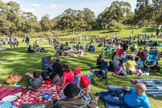 Find the perfect picnic spot in Perth City