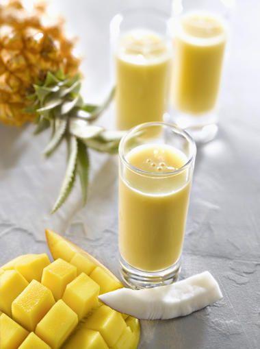 Mango-Ananas-#Kokos #Smoothie
