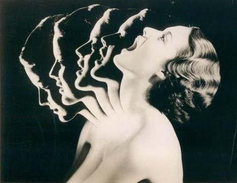 ACME News Press Wire Photo - Chew Your Way to Beauty, 1934