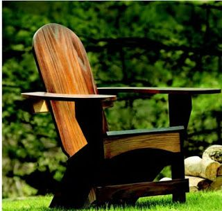 Projeto gratuito no blog: Ah! E se falando em madeira...: Cadeira Westport