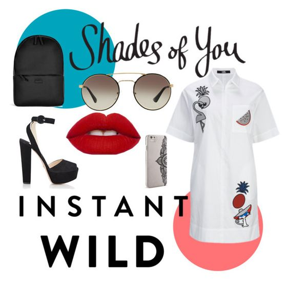 """""""Shades of You: Sunglass Hut Contest Entry"""" by olivia-lefranc on Polyvore featuring Prada, Rains, Nanette Lepore and shadesofyou"""