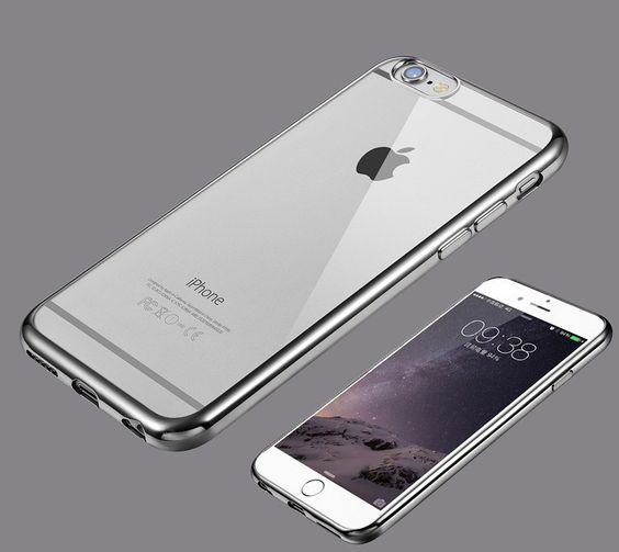 iPhone Ultra-Thin, Crystal-Clear, Bumper Case