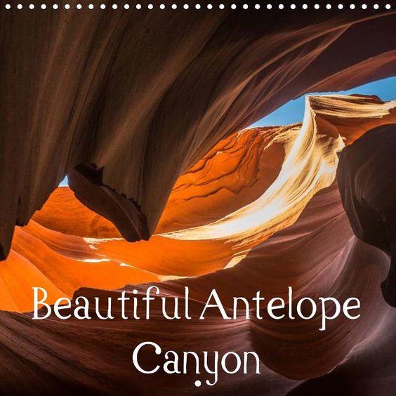 Beautiful Antelope Canyon - CALVENDO