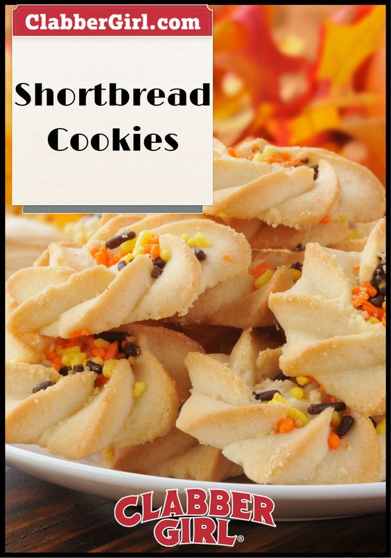 SHORTBREAD COOKIES - The single most requested item from the days I ...