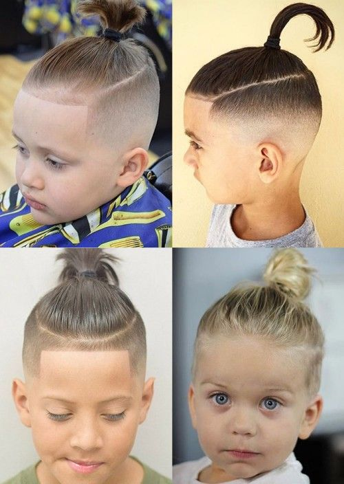 The Boys Bun (with and Without Fade)